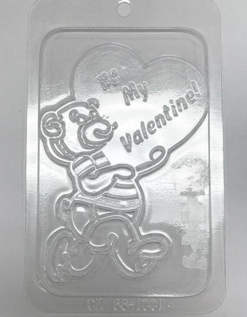 Ck Bear Be My Valentine Chocolate Mold Sweet Baking Supply
