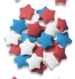Decopac Star Quins (Red, White, Blue)