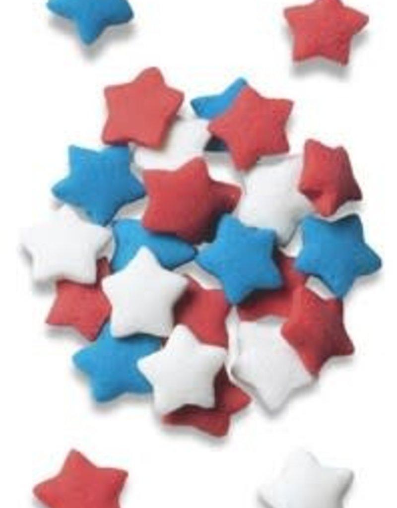 Decopac Star Quins (Red, White, Blue)