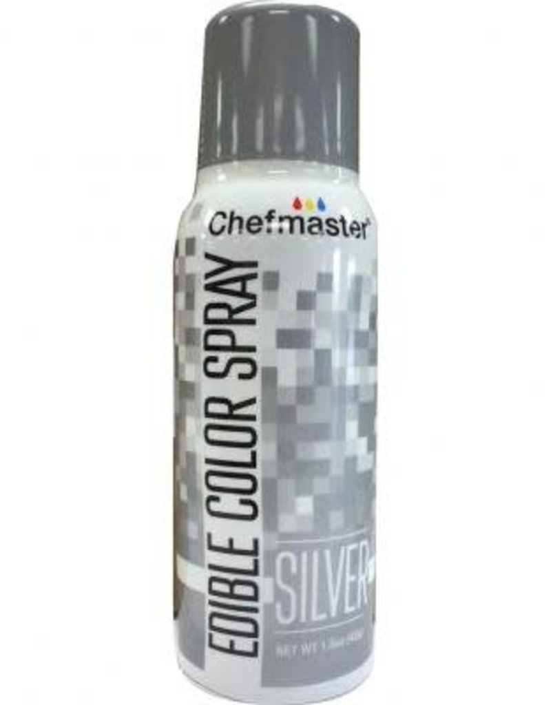 Chefmaster Chefmaster Edible Spray (Silver)