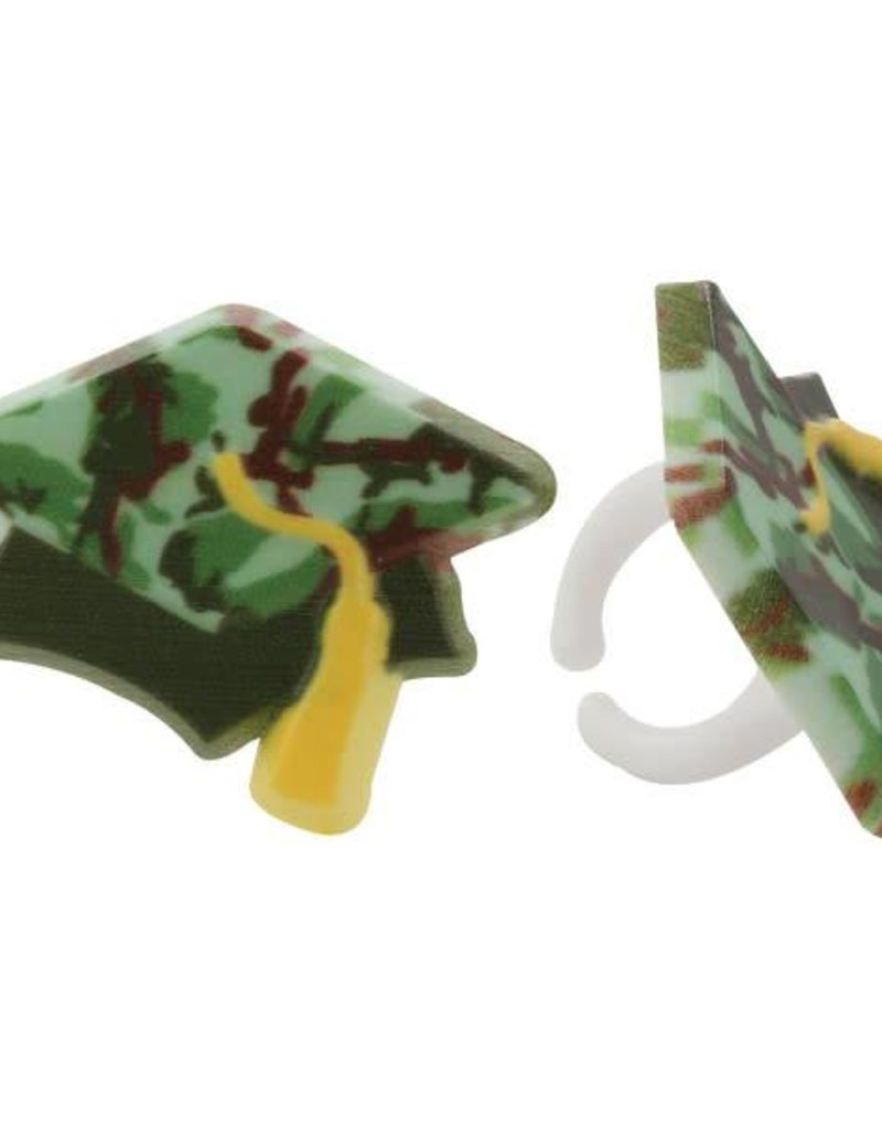 Decopac Camouflage Graduation Hat Rings (12/pkg)