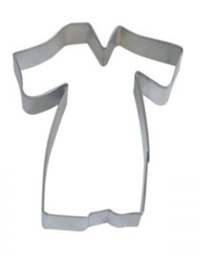 """R and M Graduation Gown Cookie Cutter (4"""")"""