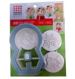Bradshaw International 3D Snowglobe Cookie Cutter