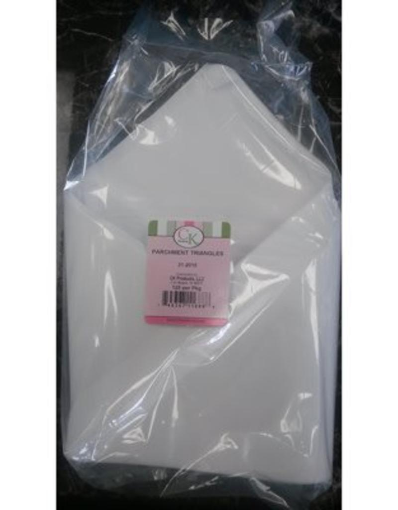 """CK Products 15"""" Parchment Triangles"""