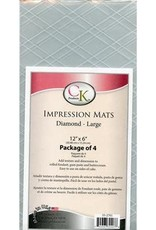 CK Products Diamond (Large) Impression Mats - set of 4