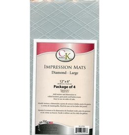 CK Products Diamond (Large) Impression Mats - set of 4