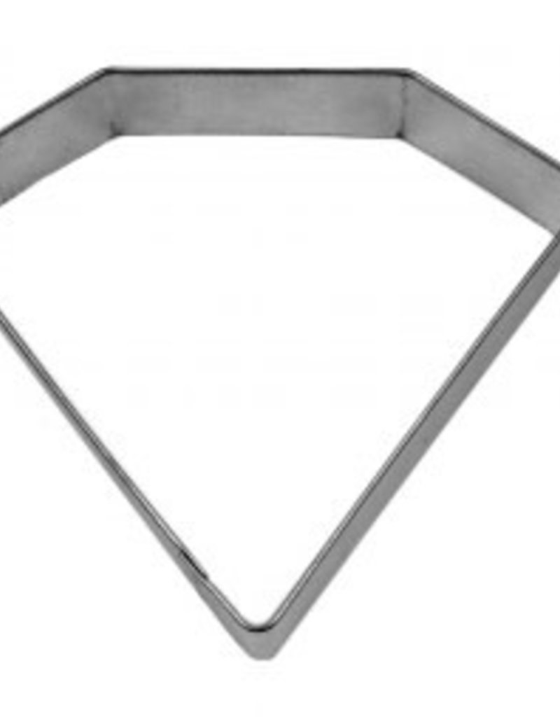 """R and M Diamond/Jewel Cookie Cutter (4"""")"""