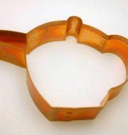 """Copper Teapot Cookie Cutter (5.5"""")"""