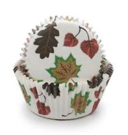 Fox Run Fall Leaves Baking Cups