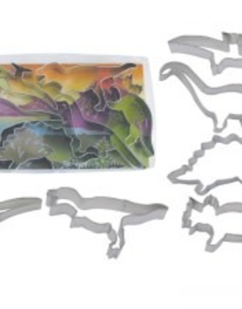 R and M Dinosaur Cookie Cutter Set