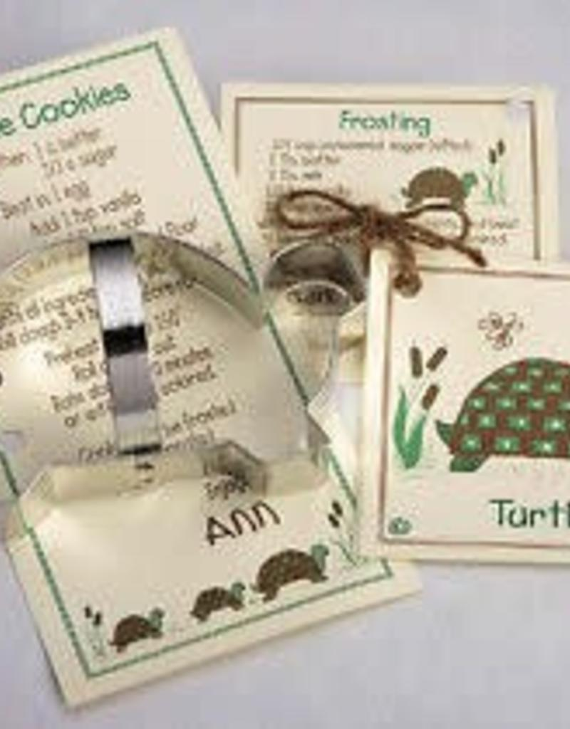 "Ann Clark Turtle Cookie Cutter with Handle (5.75"")"