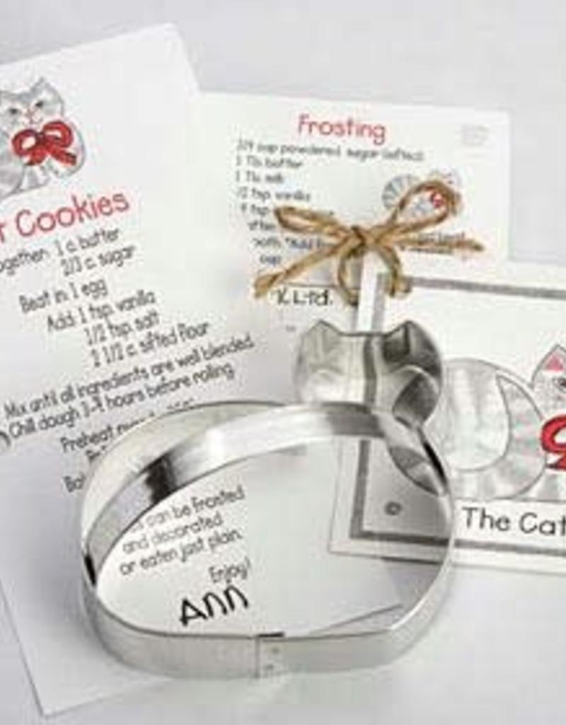 """Ann Clark Cat Cookie Cutter with Handle (4.25"""")"""