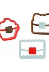 Sweet Creations Happy Birthday Cookie Cutters, set of 3