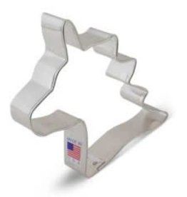 """R and M Unicorn Head Cookie Cutter (4.75"""")"""
