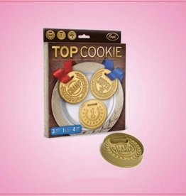 Fred & Friends Top Cookie Medallion Cookie Cutter Set