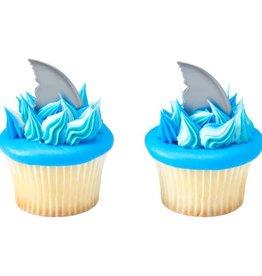 Decopac Shark Fin Cupcake Picks (12/pkg)