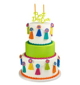 Decopac Best Day Ever Candle Holder Cake Topper