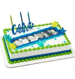 Decopac Celebrate Candle Holder Cake Topper