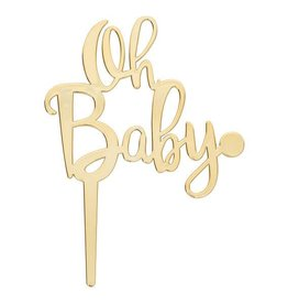 Decopac Oh Baby Candle Holder Cake Topper