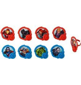 Decopac Mightiest Heroes Cupcake Rings (12/pkg)