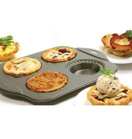 Norpro Non Stick Mini Pie Pan (4-cup)