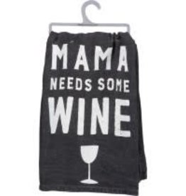 Primitives By Kathy Dish Towel - Mama Wine