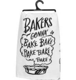 Primitives By Kathy Dish Towel - Bakers Gonna