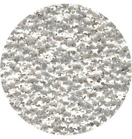 CK Products Edible Glitter Silver Stars - 4.5g