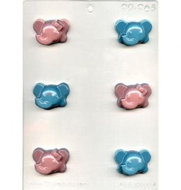 CK Products Brother & Sister Elephant Mold