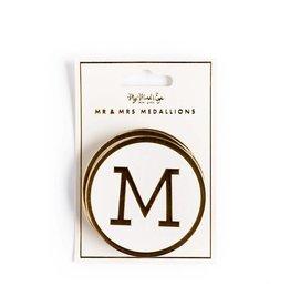 My Mind's Eye Fancy Mr & Mrs Medallions
