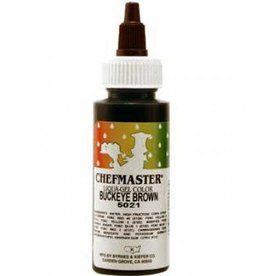 Chefmaster CM LIQUA-GEL 2.3 OZ (Buckeye Brown)