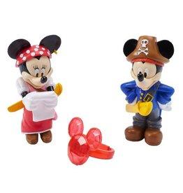 Decopac Mickey & Minnie Pirate Adventure Cake Topper DecoSet