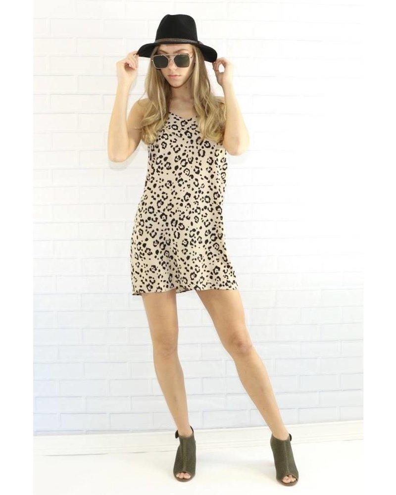 monteau 58952 animal print shift dress