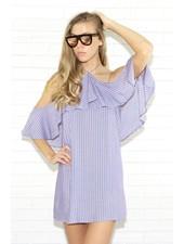 rokoko r66510 3/4 cold shoulder dress