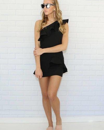 Tea & Cup tc-8138 one arm mini dress