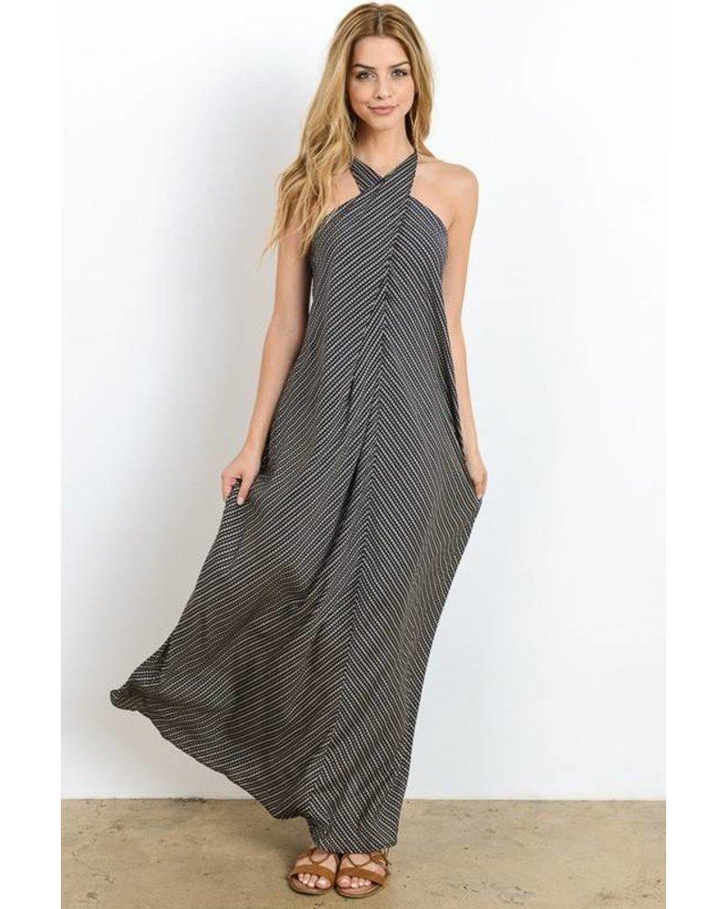 hd4088 wrap maxi dress