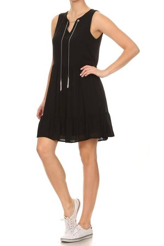 On Twelfth 1250504 tassle chain dress