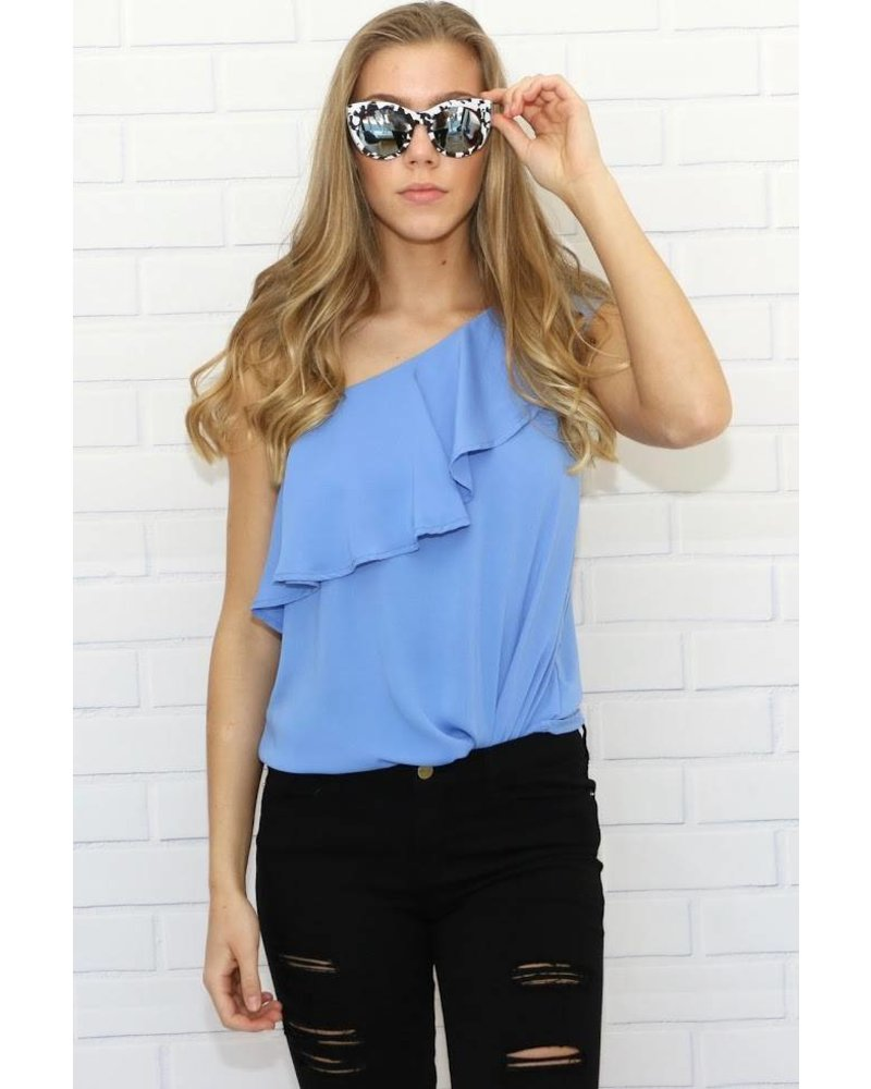 st108813 off shoulder ruffle top