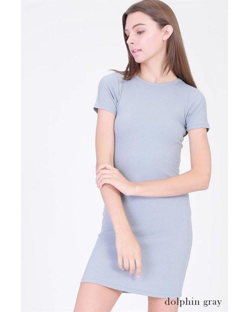 17e643 fitted mini dress