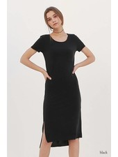 double zero 17g709 t-shirt dress