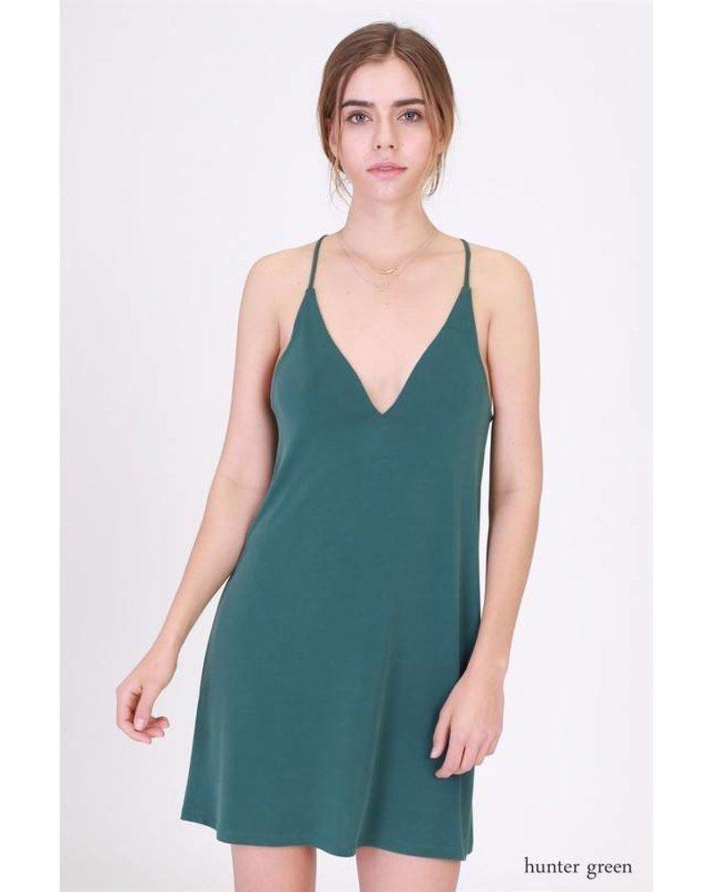 double zero 17g731 spaghetti strap dress