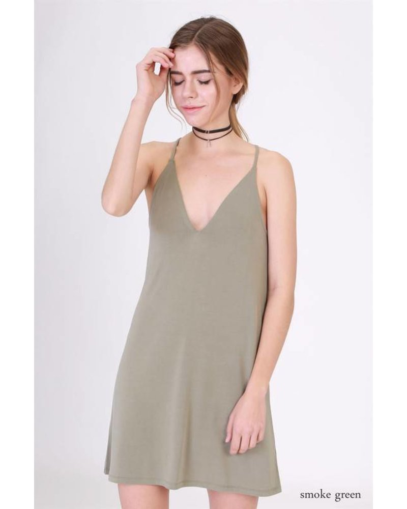 17g731 spaghetti strap dress