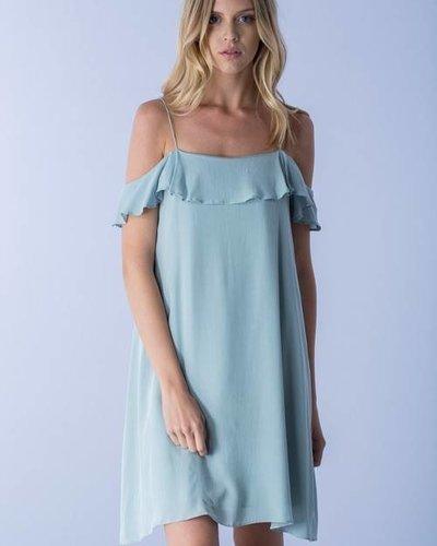 Mustard Seed S10117 cold shoulder dress