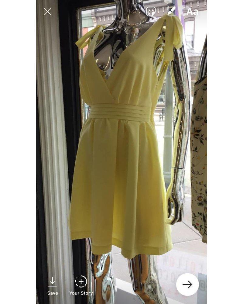 ld31254 cinch waist dress