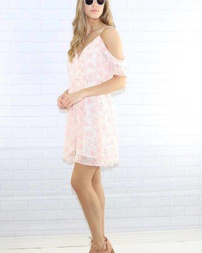Lush dr94566 cold soulder dress