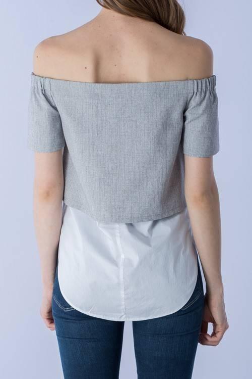 Do & Be r13539 off shoulder top