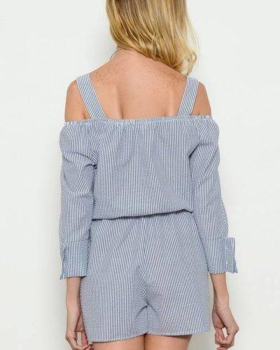 MI IN Fashion INC. by6274 off shoulder romper