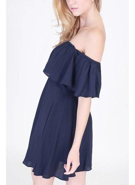 double zero 17c706 off shoulder dress