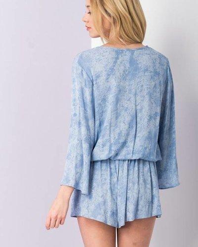 Blue Blush bs0001 wrap top set