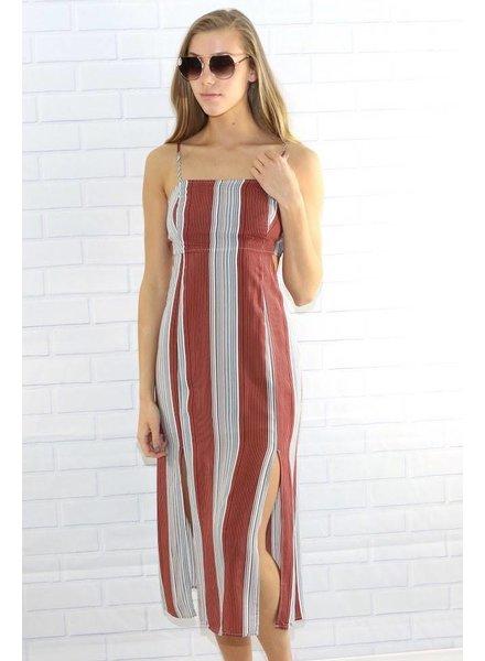 Lush ld42096-s22 slit dress